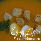 Крем-суп из тыквы и цветной капусты