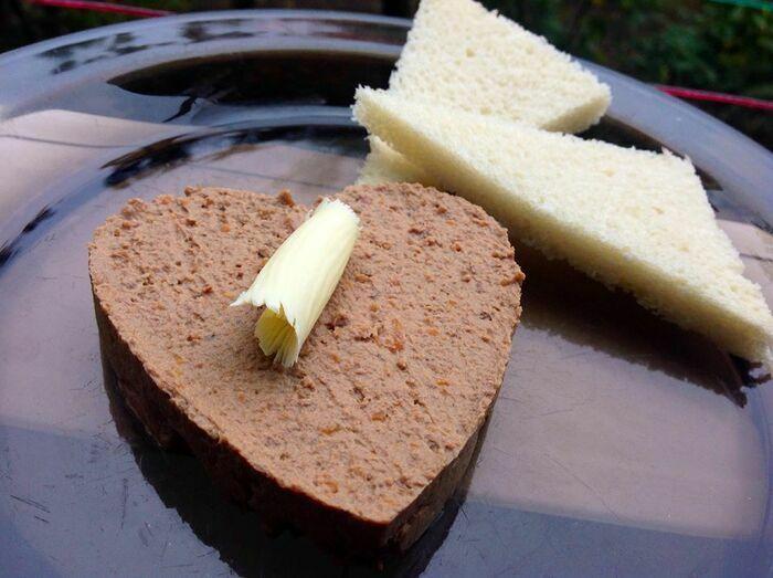 Печёночный паштет в домашних условиях с маслом