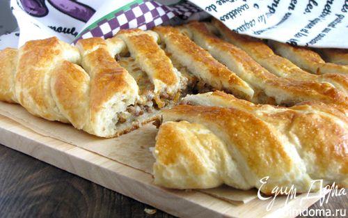 Рецепт Испанский пирог с мясным фаршем и сыром