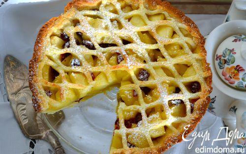 """Рецепт Яблочный пирог с """"изюминкой"""""""