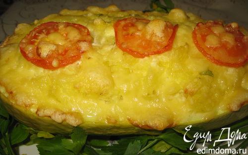 Рецепт Овощная запеканка в кабачке