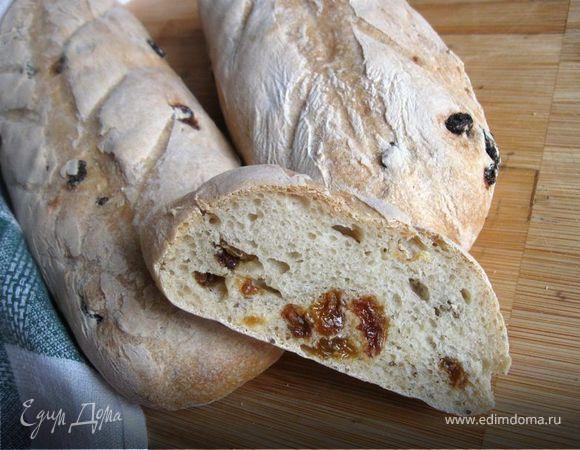 Хлеб с тмином и изюмом от Ришара Бертине