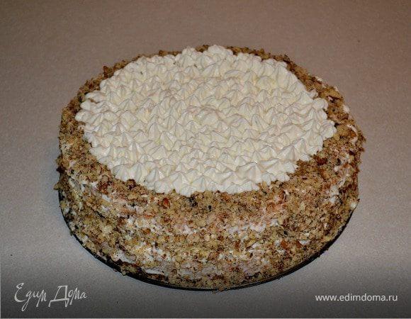 Бисквит со сливочным кремом