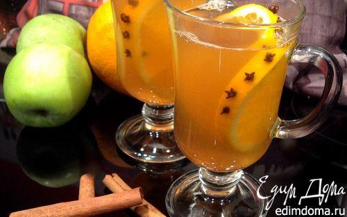 Рецепт Глинтвейн с яблочным соком