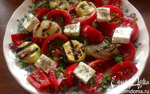 Рецепт Гриль салат