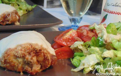 Рецепт Курица, запеченная с двумя сырами