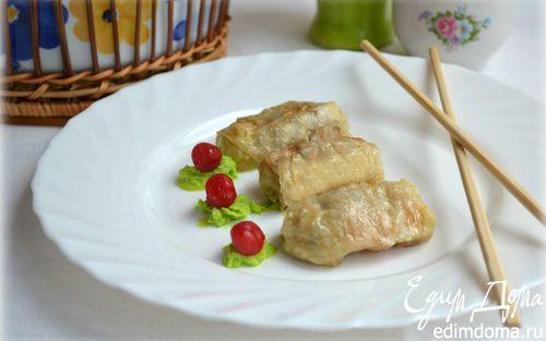 Рецепт Нежные голубцы из пекинской капусты