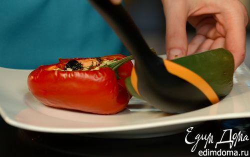Рецепт Slim-закуска фаршированный перец