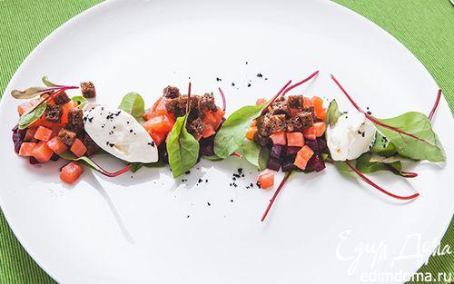 Рецепты салатов с мангольдом