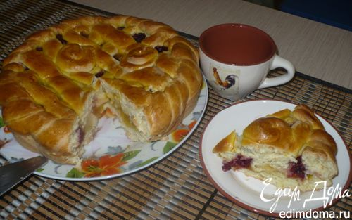 Рецепт Плетеный пирог