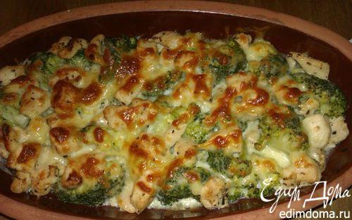 Рецепт Брокколи с куриным филе