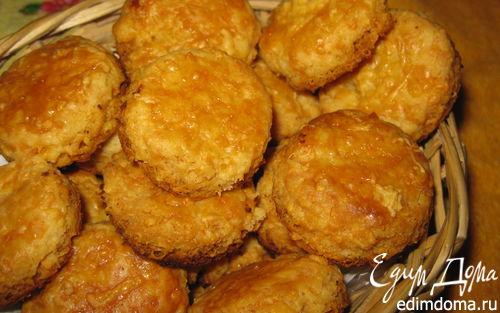 Рецепт Сырные кексы к супу