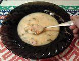 Суп с яичными лепестками