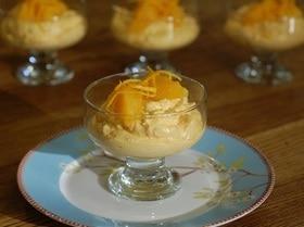 Творожное суфле с апельсином