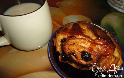 Рецепт Булочки-ссобойки с вишней и апельсиновым сиропом