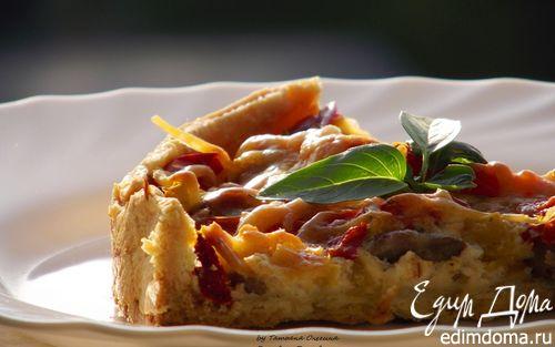 Рецепт Киш с тыквой и мясом