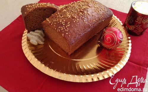 Рецепт Рождественский пряный хлеб (pain d'épice)