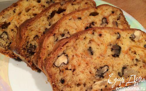 Рецепт Тыквенный кекс с грецкими орехами