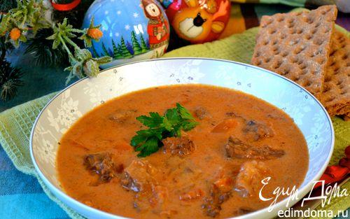 Рецепт Суп из бычьего хвоста