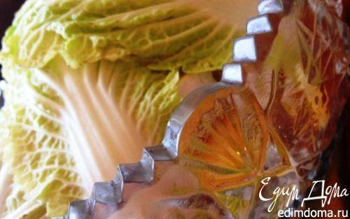 Рецепт Салат с кальмарами и ананасом