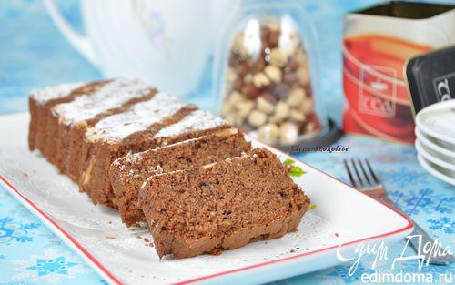 Рецепт Воздушный шоколадный кекс (на сухариках)