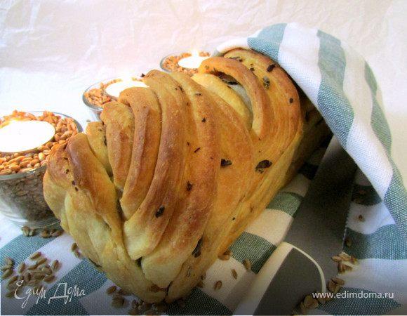 Чесночный хлеб с шалфеем
