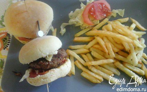 Рецепт Домашние гамбургеры