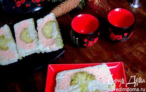 Рецепт Рыбный террин «Цвет сакуры»