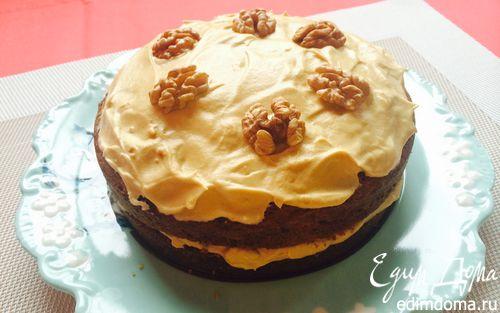 Рецепт Кофейный торт с грецким орехом