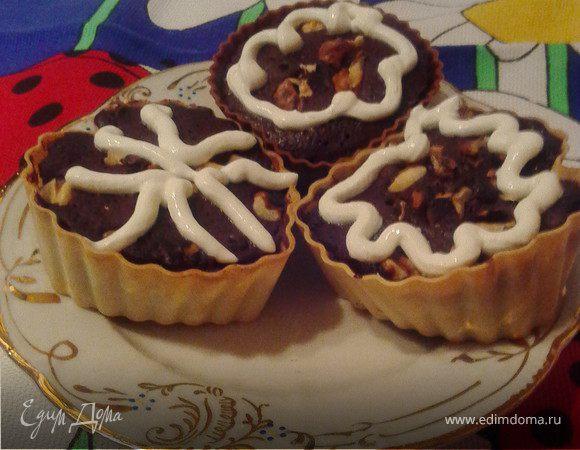 """Шоколадные кексы """"Анжелика"""""""