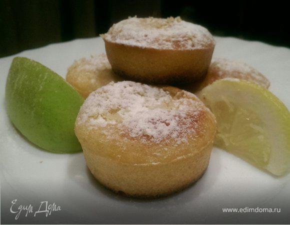 Лимонные кексики с сюрпризом