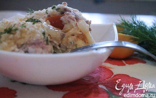 Рецепт Рагу рыбное из духовки