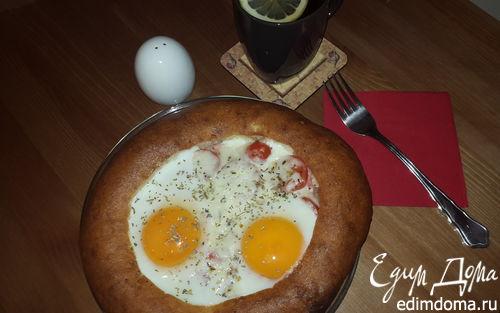 Рецепт Завтрак в лепешке