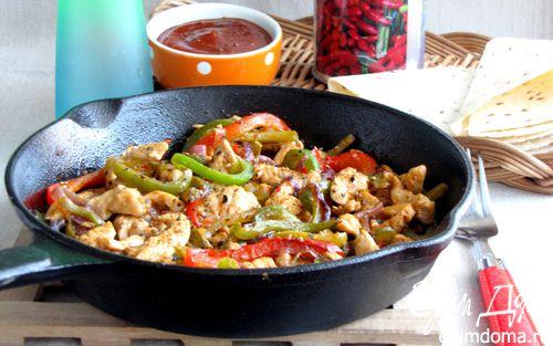 Рецепт Фахитас с курицей