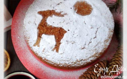 Рецепт Гречишно-кунжутный пирог и глег из ирги