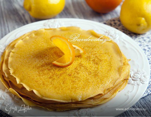 Тыквенно-лимонные блины