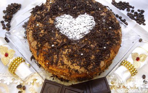 Рецепт Торт медовик со сливочно-сметанным кремом