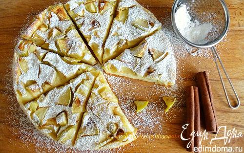 Рецепт Пряный яблочный пирог-блин