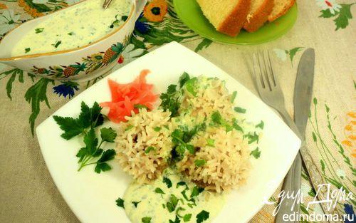 Рецепт Паровые тефтели «Хризантемы» в пароварке