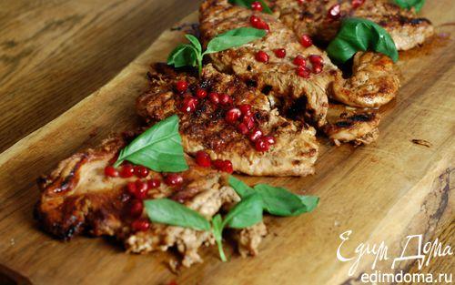 Рецепт Кебаб из цыпленка в гранатовом соусе