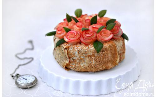 """Рецепт Блинный торт """"Весеннее настроение"""""""