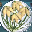 Закуска из печени трески в ракушках (конкильони)