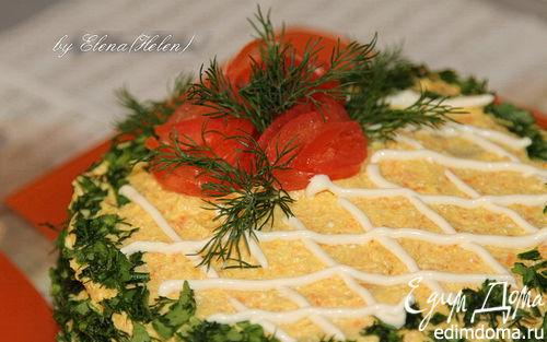Рецепт Закусочный печёночный тортик