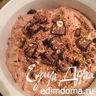 Шоколадное джелато с фундуком и конфетами Бачио (BACIO)