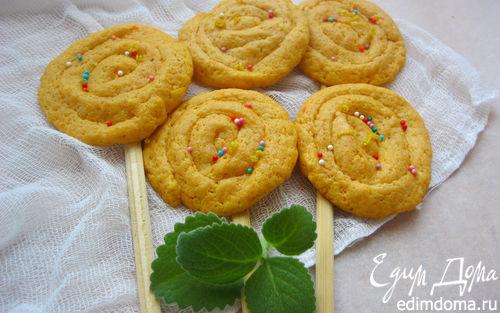 Рецепт Имбирно-тыквенное печенье