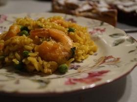 Классическая паэлья с морепродуктами