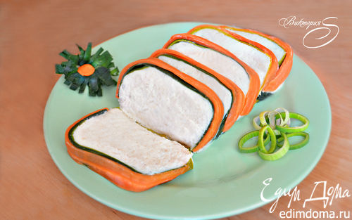 Рецепт Суфле из цветной капусты с морковью и луком-пореем