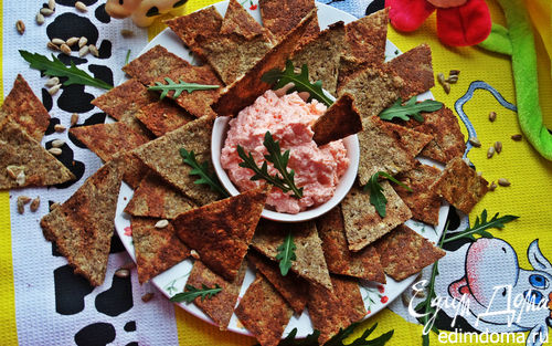 Рецепт Зерновые луковые чипсы