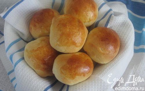 Рецепт Молочные булочки (Panini al latte)