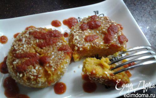 Рецепт Чечевичные котлетки с овощами и нутовой мукой